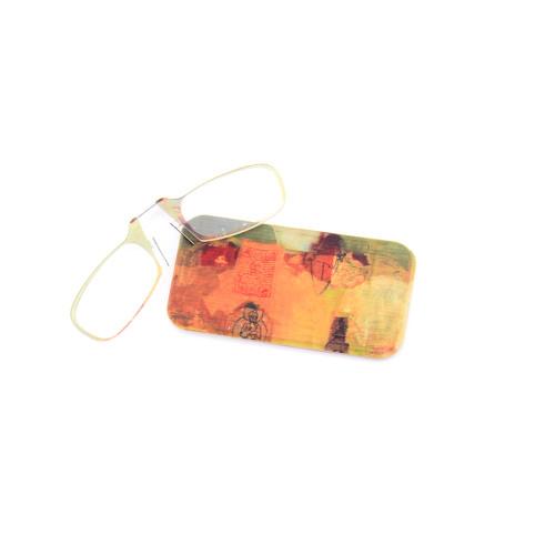 Venta al por mayor Venta caliente Gafas mini monedero gafas de lectura ópticas ultra ligeras de diseño