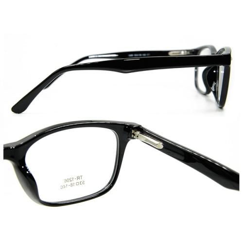 Marco de gafas al por mayor de la última moda al por mayor marcos de lentes ópticos Ultra Light TR90 para hombres