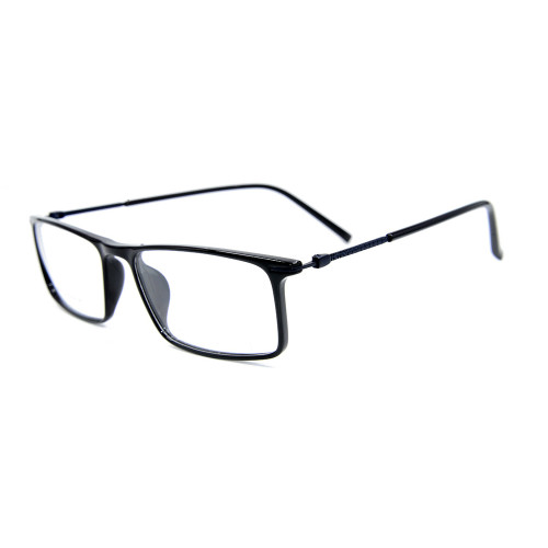 Los últimos marcos de gafas ópticas Ultra Light TR90 de alta calidad para adultos de diseño de moda de metal para caballeros