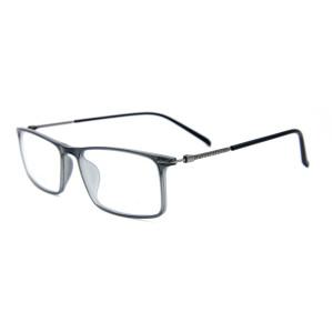 Son Moda Tasarım Yetişkinler metal gözlük yüksek kaliteli Ultra Hafif beyler için TR90 optik gözlük çerçeveleri