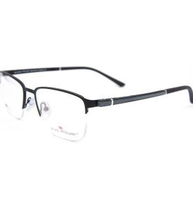 Venta al por mayor Nuevo modelo de diseño de moda estilo tr90 Spectacle Frame metal marcos de vidrios ópticos para hombres