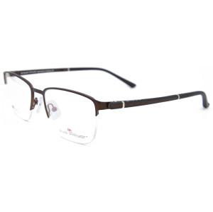 Toptan Yeni model stil Moda Tasarım tr90 Gözlük Çerçevesi erkekler için metal optik gözlük çerçeveleri