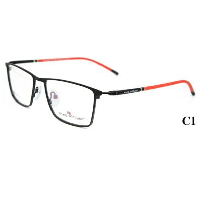 الجملة حار بيع دائم الجودة مصنع مخصص النظارات الإطار المعدني النظارات البصرية إطارات للرجال