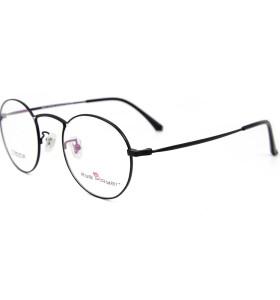 حار بيع عالية الجودة تصميم الأزياء النظارات الإطار التيتانيوم جولة النظارات البصرية إطارات للبالغين