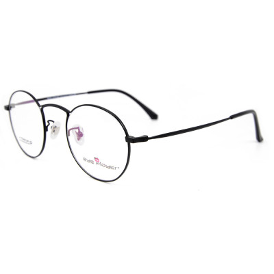 Hot selling high Quality Fashion design  Eyewear Frame Titanium round optical glasses frames for adults