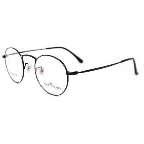 Venta al por mayor venta caliente nuevo modelo de estilo gafas marco redondo de titanio gafas para los hombres