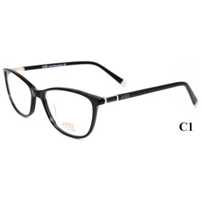 حار بيع رواج نمط أحدث طراز النظارات إطارات النظارات البصرية خلات مع الماس للسيدات