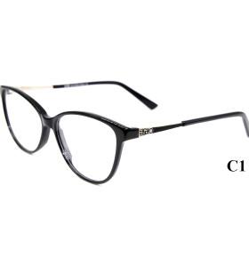 الجملة ذات جودة عالية كمية صغيرة من أجل نظارات أزياء الماس خلات النظارات البصرية الإطار للسيدات