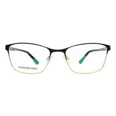 الجملة أحدث تصميم الأزياء رواج النظارات حار بيع المعادن النظارات البصرية الإطار للنساء السيدات