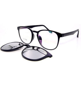 الجملة رواج تصميم القيادة النظارات الشمسية TR90 الإطار كليب المغناطيسي على النظارات الشمسية مع عدسة الاستقطاب الرجال النساء