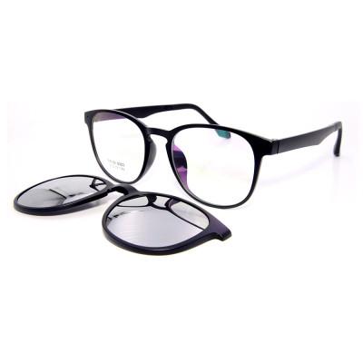 Vogue diseño al por mayor de conducción gafas de sol TR90 Frame Clip magnético en gafas de sol con lentes polarizadas hombres mujeres