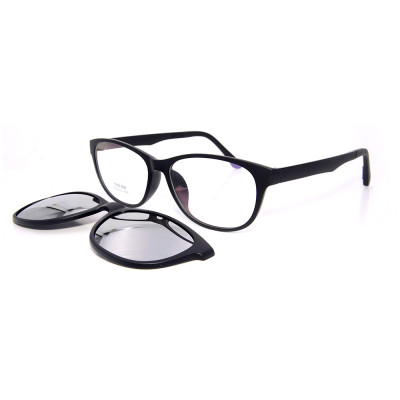 Портативные магнитные очки Ultem Оптическая оправа клипса на солнцезащитные очки с поляризованным объективом мужчины женщины