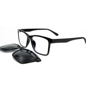 حار بيع أفضل نوعية النظارات الشمسية ألتم البصرية الإطار المغناطيسي كليب على النظارات الشمسية مع عدسة الاستقطاب