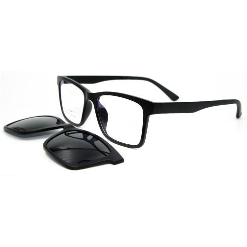 Las mejores gafas de sol de calidad de la venta caliente clip óptico magnético de Ultem en gafas de sol con lentes polarizadas