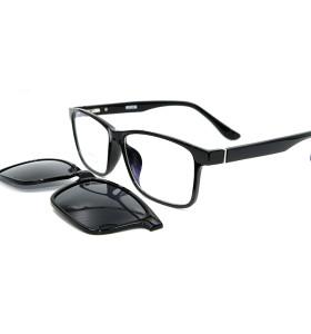 مصنع مخصص دائم Ultem النظارات الشمسية الإطار المغناطيسي كليب على النظارات الشمسية مع عدسة الاستقطاب