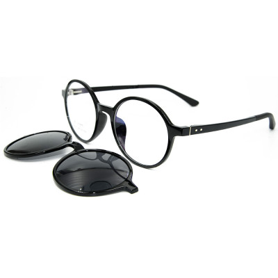 نظارات شمسية مصنوعة من المعدن ذات إطار متين أوروبي رفيع المستوى مع نظارة شمسية مستقطبة