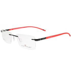 Nuevo diseño de Vogue marcos de lentes ópticos cuadrados de metal sin montura de calidad duradera para hombres