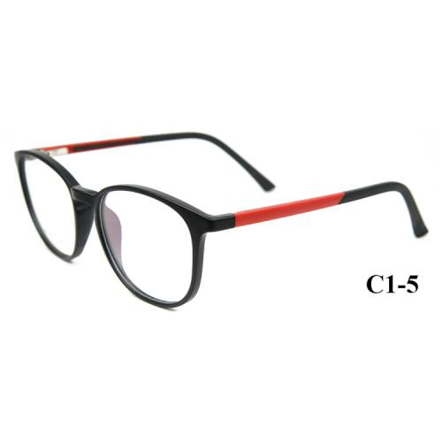 Nuevo modelo Fashion Design Adultos monturas de gafas Monturas ópticas Ultra Light TR90 para hombres