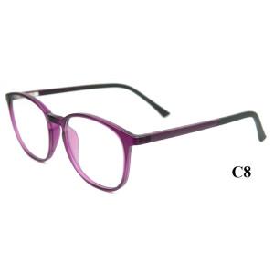 Yeni model Moda Tasarım Yetişkin gözlük çerçeveleri Ultra Hafif TR90 erkekler için optik gözlük çerçeveleri