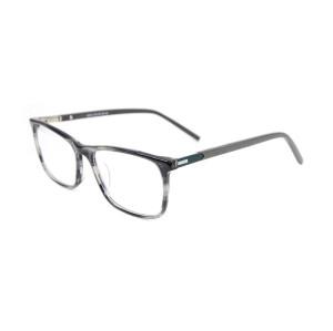 Fabrika özel yeni vogue tasarım yetişkinler için dayanıklı asetat gözlük metal optik gözlük çerçeveleri