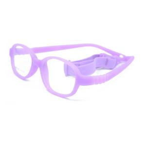 Marco flexible colorido de las gafas de los niños cómodos de la venta caliente TR90 El bebé flexible embroma marcos ópticos
