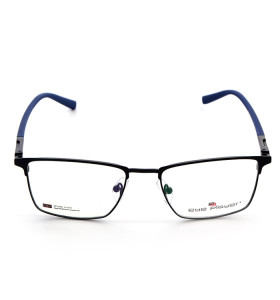 أحدث مصنع مخصص أعلى بيع الربيع مرنة النظارات المعدنية مربع النظارات البصرية إطارات للرجال