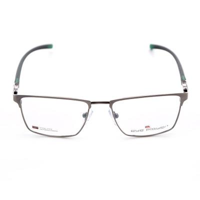 Marcos de los vidrios ópticos de la nueva moda de las gafas de la moda cómoda de encargo ligera del metal para los hombres