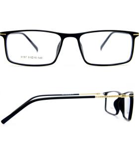 أحدث تصميم الأزياء الكبار نظارات معدنية عالية الجودة الترا ضوء TR90 النظارات البصرية إطارات للسادة
