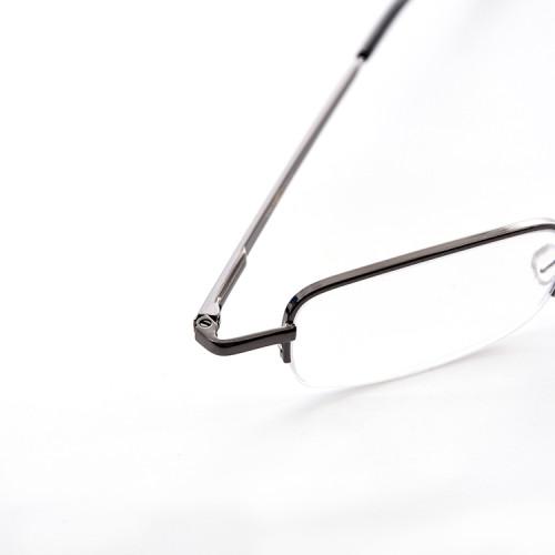 Vidrios de lectura ópticos plegables clásicos vendedores calientes del metal de la mejor calidad con el caso para las mujeres de los hombres