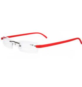 Marco óptico de alta calidad vendedor caliente de los vidrios de lectura del metal TR90 del diseño del modelo nuevo con el caso