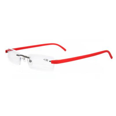 Новая модель Горячий продавать Дизайн Высокого Качества Металла TR90 Оптические Очки Для Чтения рамка с чехлом