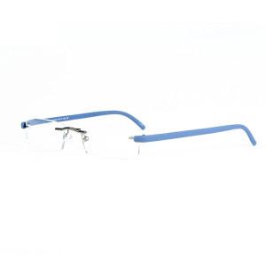 Yeni model Sıcak satış Tasarım Yüksek Kalite Metal TR90 Optik Okuma gözlükleri çerçeve kılıf ile