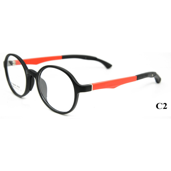 Wholesale High quality TR90 Kids Eyewear Adjustable Temple Optical Glasses Frame For Teenagers