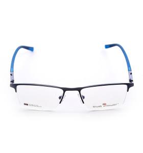 أعلى بيع رواج تصميم جديد دائم جودة النظارات المعدنية مربع النظارات البصرية إطارات للرجال
