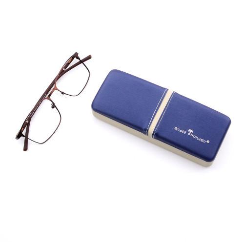 Venta al por mayor venta caliente durable calidad Metal hoja material de dibujo hierro metal gafas