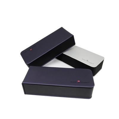 2019 Оптовая Vogue дизайн PU материал фабрики на заказ складные очки чехол коробка