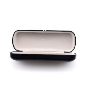 Caja de la caja de las gafas de sol de los vidrios del hierro del metal del diseño del vogue del diseño de la mejor calidad común lista