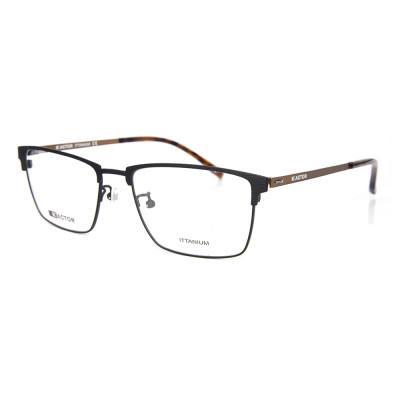 Самые популярные высококачественные гибкие пружинные оправы для очков Титановые оптические оправы для очков для мужчин