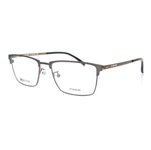Montura de gafas de resorte flexible de alta calidad más popular Marco de lentes de titanio óptico para hombres