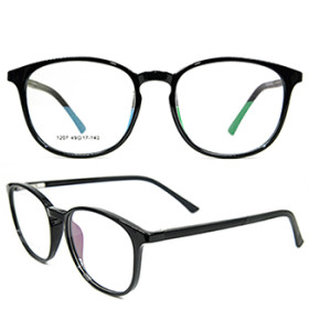 أحدث الأزياء الكبار نمط دائم جولة النظارات الترا ضوء TR90 النظارات البصرية إطارات للرجال