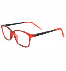 أعلى بيع جديد مخصص TR90 النظارات إطارات النظارات الملونة الناعمة الأزياء إطار النظارات البصرية مرنة للأطفال