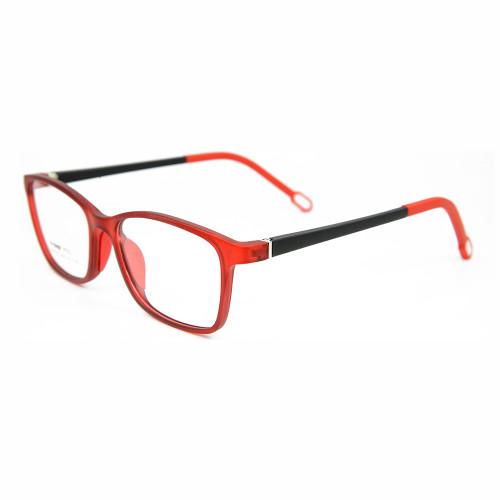 Los nuevos marcos de gafas de colores suaves personalizados TR90 de la venta superior forman el marco flexible de los vidrios ópticos para los niños