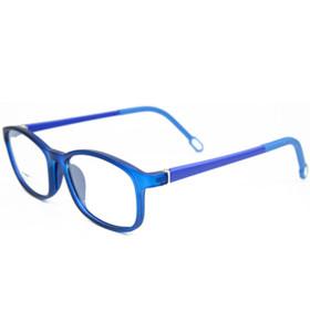 جديد تصميم الأزياء نموذج TR90 خفيفة الوزن النظارات إطارات النظارات البصرية إطار لينة للأطفال