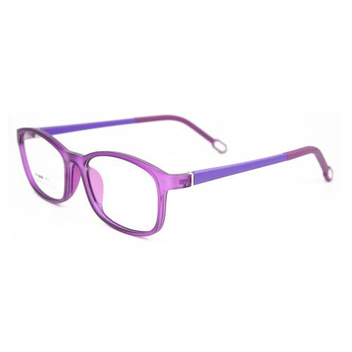 El nuevo diseño de modelos de moda TR90 y las gafas de peso ligero enmarca el marco óptico de la lente para niños