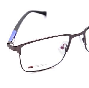 En satış Yeni moda tasarım dayanıklı erkekler için esnek bahar gözlük metal optik gözlük çerçeveleri