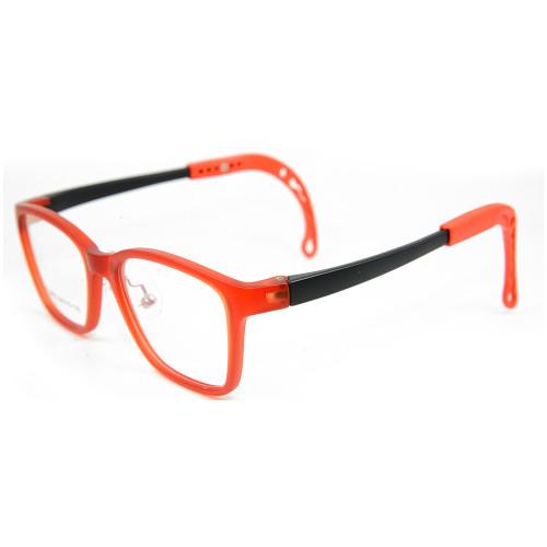 Venta al por mayor nuevo modelo personalizado color niños gafas TR90 ópticas flexibles suaves marcos de anteojos para niños