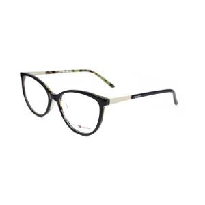 Nuevo modelo de moda patrón floral para niños Gafas de acetato óptico oval Marco para niños
