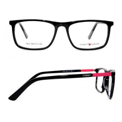 الجملة أزياء نمط مربع أطفال نظارات إطار ملون خلات النظارات إطارات البصرية