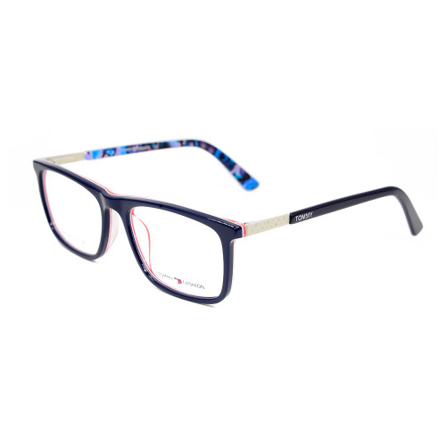 El cuadrado al por mayor del estilo de la moda embroma marcos ópticos de los vidrios coloridos del acetato del marco de las gafas