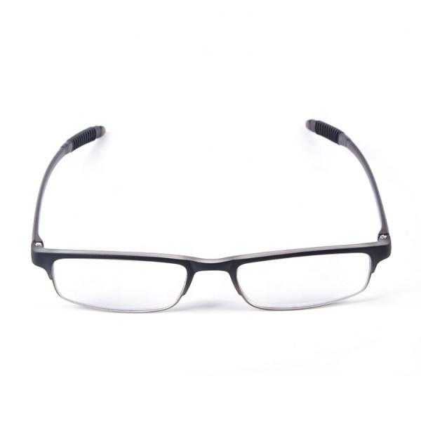 Yeni model basit tasarım ince TR90 gözlük yumuşak optik çerçeveleri erkekler kadınlar için Okuma gözlükleri